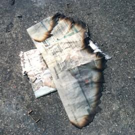 Leah Oates Paperplane, 2007